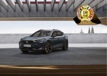 CUPRA Formentor jednym z siedmiu aut nominowanych do Car of the Year 2021